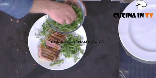 Detto Fatto - Tagliata di manzo e pollo ricetta Luca Terni