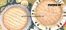 La Prova del Cuoco - Torta alla ricotta con lemon curd ricetta Natalia Cattelani