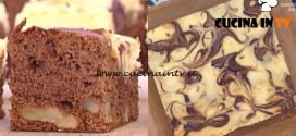 La Prova del Cuoco - Torta brownies cheesecake ricetta Natalia Cattelani