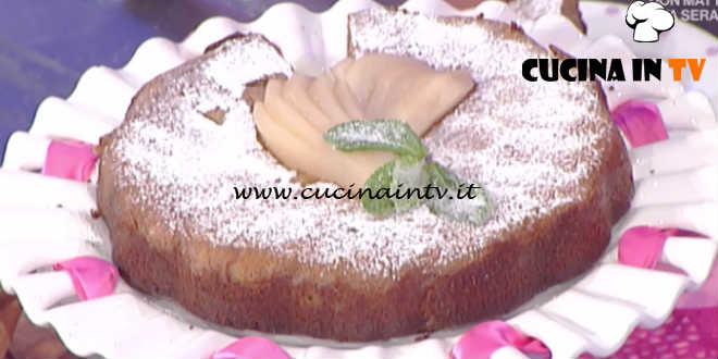 La Prova del Cuoco - Torta di pere e zenzero ricetta Anna Moroni