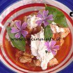 La Prova del Cuoco - Bocconcini di tacchino al pomodoro con basilico e burrata ricetta Diego Bongiovanni