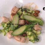 La Prova del Cuoco - Bocconcini di tacchino con zucchine e mandorle ricetta Cesare Marretti