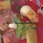 La Prova del Cuoco - Carpaccio di tonno con melone ricetta Cesare Marretti