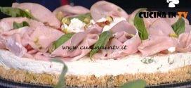 La Prova del Cuoco - Cheesecake salata ricetta Andrea Mainardi