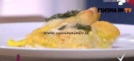 Detto Fatto - Crespelle con asparagi ricetta Beniamino Baleotti