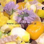 La Prova del Cuoco - Insalatina di baccalà con ceci neri e maionese allo zenzero e limone ricetta Sergio Barzetti