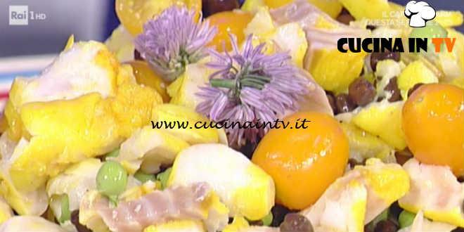 Prova del Cuoco | Insalatina di baccalà con ceci neri e maionese allo zenzero e limone ricetta Barzetti