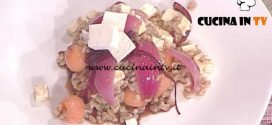 La Prova del Cuoco - Insalata di farro con melone feta e cipolle caramellate ricetta Ivano Ricchebono