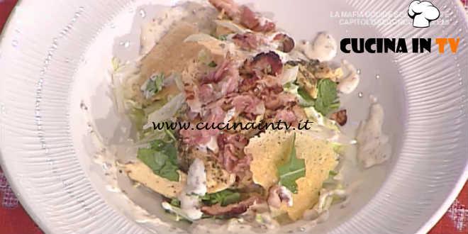 Prova del Cuoco | Insalata di pollo con bacon e salsa allo yogurt ricetta Marsetti