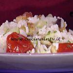 La Prova del Cuoco - Insalata di riso alla greca con salsa tzatziki ricetta Ambra Romani