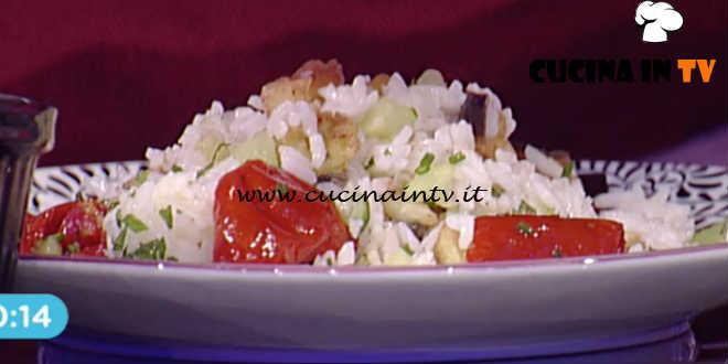 Prova del Cuoco | Insalata di riso alla greca con salsa tzatziki ricetta Romani
