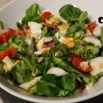 Cotto e mangiato - Insalata di soncino con asparagi e speck ricetta Tessa Gelisio