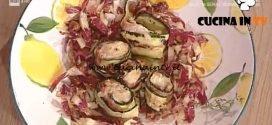 La Prova del Cuoco - Involtini di zucchine con rana pescatrice e pancetta ricetta Renato Salvatori