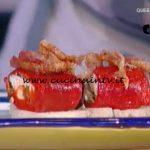 La Prova del Cuoco - Involtini di peperoni con caprino capperi e olive ricetta Ambra Romani