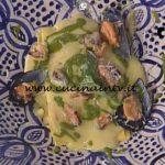 La Prova del Cuoco - Lasagnetta aperta con cozze patate e zenzero candito ricetta Natale Giunta