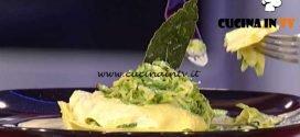 La Prova del Cuoco - Lasagnetta aperta con zucchine e maggiorana ricetta Katia Maccari