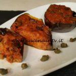 Cotto e mangiato - Melanzane ripiene alla napoletana ricetta Tessa Gelisio