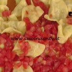 La Prova del Cuoco - Mezzelune di ricotta e mortadella con pomodorini ricetta Alessandra Spisni
