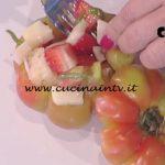 La Prova del Cuoco - Panzanella con pecorino e fragole ricetta Cesare Marretti