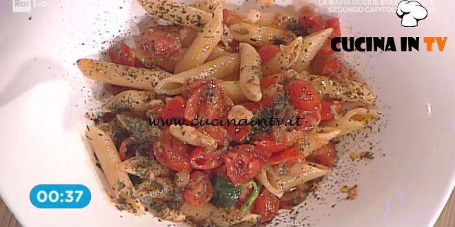La Prova del Cuoco - Pennette con pesto alla siciliana ricetta Renato Salvatori