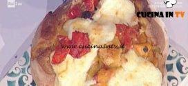 La Prova del Cuoco - Peperonata golosa in pagnotta ricetta Sergio Barzetti