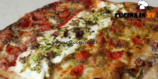 Cotto e Mangiato | Pizza in teglia 4 gusti ricetta Tessa Gelisio