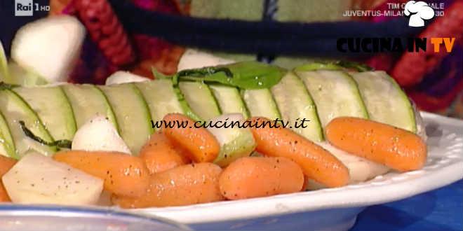La Prova del Cuoco - Polpettone freddo in crosta di zucchine ricetta Luisanna Messeri