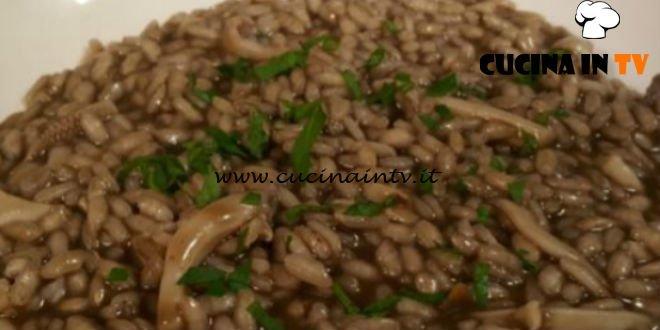 Cotto e Mangiato   Risotto al nero di seppia ricetta Tessa Gelisio