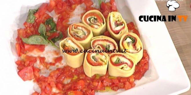 La Prova del Cuoco - Rotolo freddo di pasta ai peperoni ricetta Luisanna Messeri