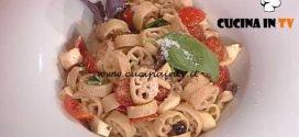 La Prova del Cuoco - Ruote con olive taggiasche e mozzarelline ricetta Ivano Ricchebono