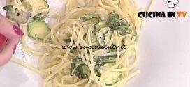 La Prova del Cuoco - Spaghetti alla Nerano ricetta Mauro Improta