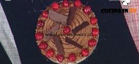 La Prova del Cuoco - Torta cioccolato e ciliegie ricetta Guido Castagna