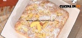 La Prova del Cuoco - Torta di pesche e mandorle ricetta Anna Moroni