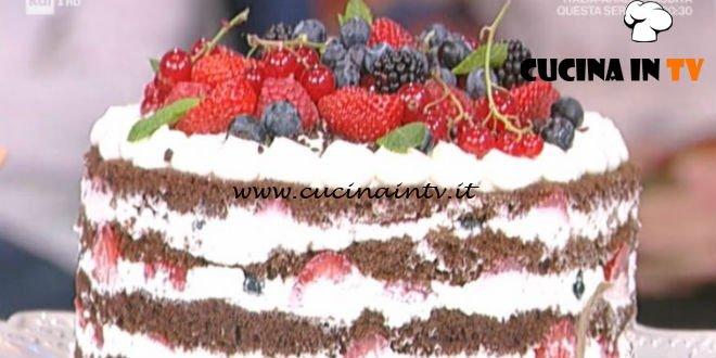 Prova del Cuoco | Torta in padella Foresta nera con frutti di bosco ricetta Cattelani