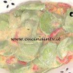 La Prova del Cuoco - Tortelli di crescenza con salsa di peperoni ricetta Daniele Persegani