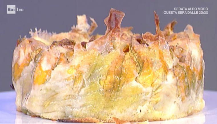 La Prova del Cuoco - Tortino di fiori di zucca ripieni ricetta Andrea Mainardi