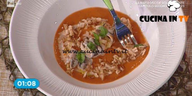 La Prova del Cuoco - Zuppa di pomodoro ricetta Mauro Improta