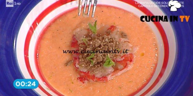 Prova del Cuoco | Zuppetta fredda al melone ricetta Valbuzzi