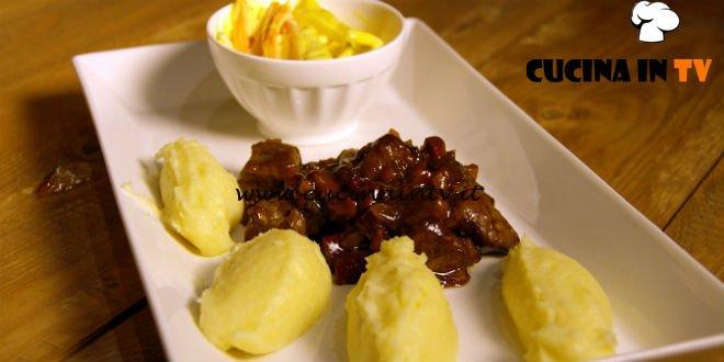 Masterchef 7 | Agnello alla birra scura con insalata coleslaw ricetta Simone Scipioni