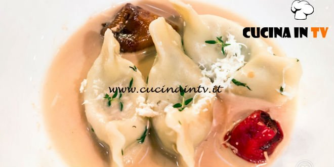 Masterchef Italia 7 - ricetta Cjarsons di mare di Eri Koishi