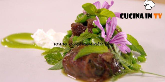 Masterchef 7 | Coda friggitelli yogurt ricetta Antonia Klugmann