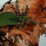 Cotto e mangiato - Coniglio alla ligure con olive taggiasche e pinoli ricetta Tessa Gelisio