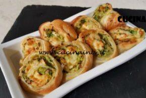 Cotto e Mangiato | Girelle vegetariane con zucchine e brie ricetta Tessa Gelisio