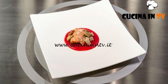 Masterchef Italia 7 - ricetta Haiku di trota di Jose Oppi