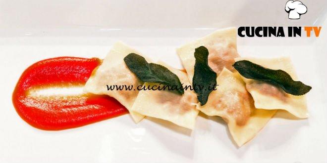 Masterchef Italia 7 - ricetta I ravioli di nonna Pina di Francesco Rozza