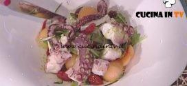 La Prova del Cuoco - Insalata di polpo con pomodori secchi e bufala affumicata ricetta Ambra Romani