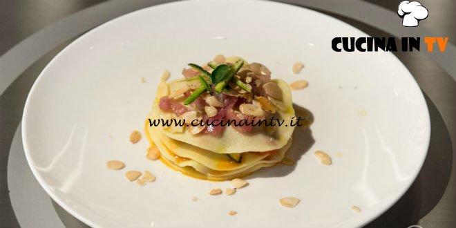 Masterchef 7 | Lasagna al mare ricetta Giovanna Rosanio