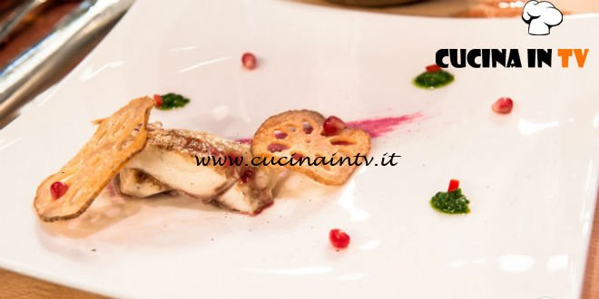 Masterchef Italia 7 - ricetta Lucky Fish di Francesco Rozza