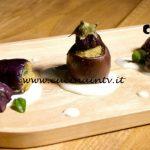 Masterchef Italia 7 - ricetta Melanzane ripiene su fonduta di pecorino di Stefano Biondi
