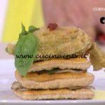 Detto Fatto - Millefoglie salata ricetta Ilario Vinciguerra